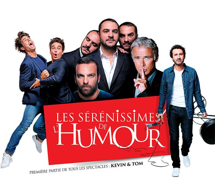 LES SÉRÉNISSIMES DE L'HUMOUR 2018